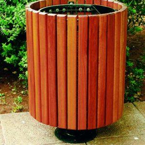 delware pedestal bin